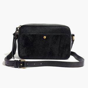 Madewell Manchester Crossbody Bag in Calf Hair